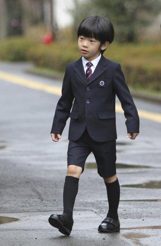 目前年紀最小的男性皇室成員:悠仁親王。(美聯社)