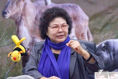 高雄市長陳菊對於陳水扁前總統一案 表示能越寬容越好(資料照,曾原信攝)