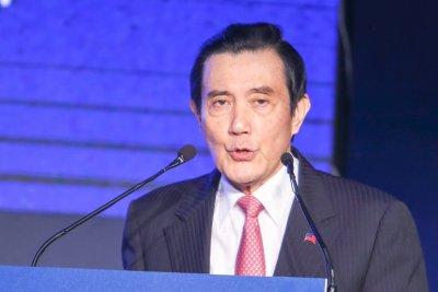 20161101-2016第14屆華人領袖遠見高峰會.前總統馬英九出席(陳明仁攝)
