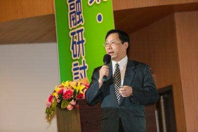 20161122-經濟部能源局長林全能22日出席「支持綠能產業,發展綠色金融研討會」。(顏麟宇攝)