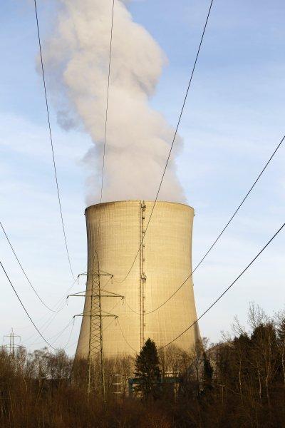 瑞士的格斯根核電廠。(美聯社)