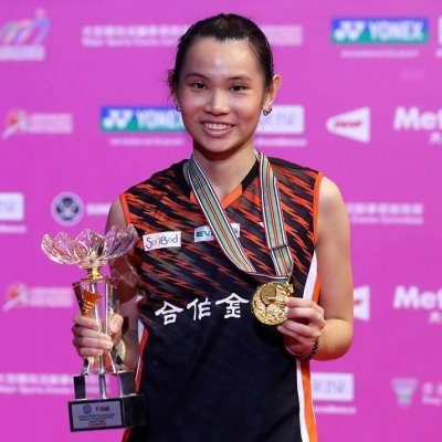 戴資穎在香港羽球超級賽奪冠,下週將擠下西班牙瑪琳,成為台灣首位世界球后。(取自戴資穎臉書粉絲頁)