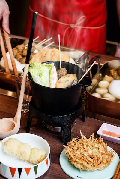 把台日混血的黑輪裝進法式鐵鍋裡,你還認得它是誰嗎? (圖/Foodie Amber 臉書專頁)