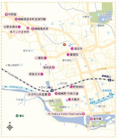 地圖(圖/健行文化提供)