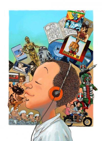漫畫家小莊作品《80年代事件簿2》(小莊提供)