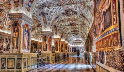 梵蒂岡博物館。(Amfinternational)