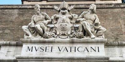 梵蒂岡博物館。(曾廣儀攝)