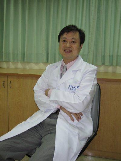 三軍總醫院精神醫學部主任葉啟斌。(黃天如攝)