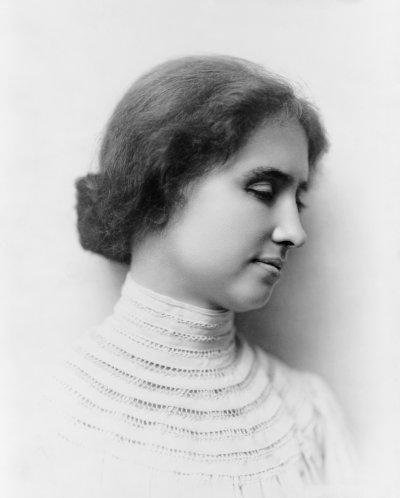 美國聾盲教育家、社會運動家海倫凱勒。(圖/維基百科公有領域)