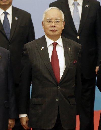 馬來西亞總理納吉布。(美聯社)
