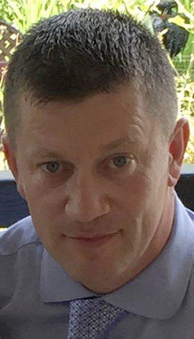 在英國國會恐怖攻擊中殉職的警察凱斯.帕爾默(Keith Palmer)(AP)