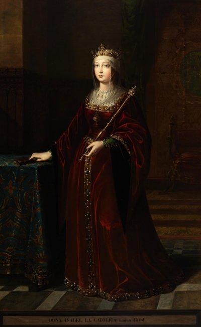 統一西班牙的女王伊莎貝拉一世。(維基百科公有領域)