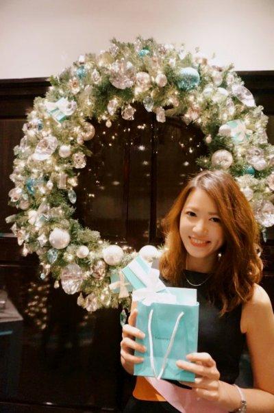 Lena是該年唯一獲選為Tiffany校園大使的CBS一年級生。(圖/Sabina Huang提供)