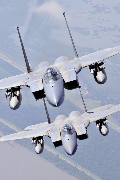 美軍的F-15戰機。(美國海軍官網)