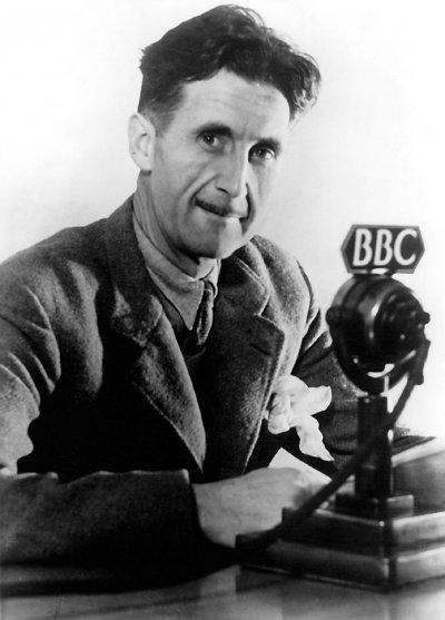 喬治.歐威爾曾在BBC工作(Wikipedia/Public Domain)