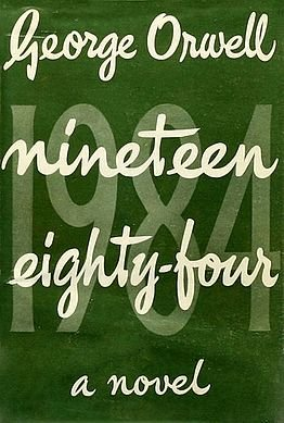 《1984》初版封面(Wikipedia/Fair Use)