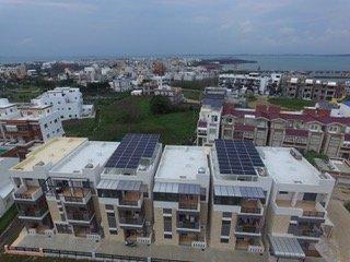 20170625-德國再生能源專題/翻轉吧!能源。綠點能創位於澎湖的「菊島一號」案場。網路平台「陽光伏特家」。(綠點能創提供)