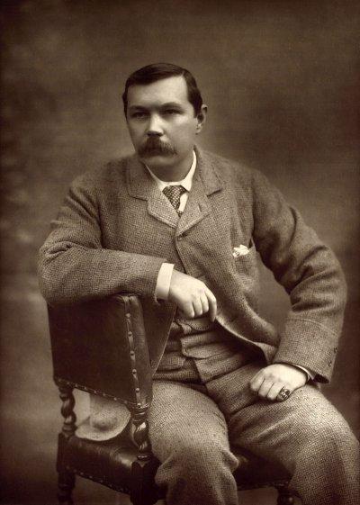 1893年的柯南.道爾(Wikipedia/Public Domain)
