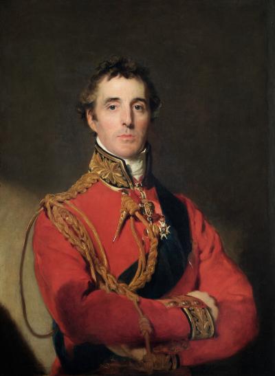 由托馬斯·勞倫斯繪製的威靈頓公爵像。(圖/維基百科)
