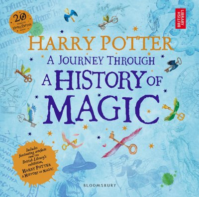 《哈利波特:魔法史之旅》(暫譯)將於今年10月出版(取自Amazon官網)