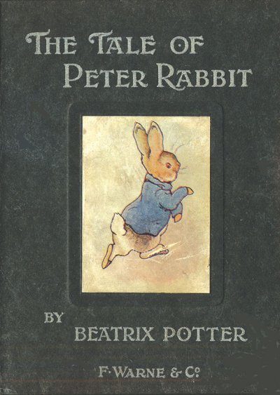 《彼得兔的故事》 初版(Wikipedia/Public Domain)