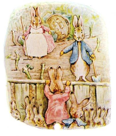 彼得兔深受全球讀者喜愛(Wikipedia/Public Domain)