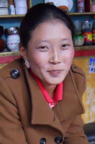 尼瑪拉姆說,如果不是因為舅舅蒙冤,她還會是個平凡的藏族女子。(美國之音藏語組提供)