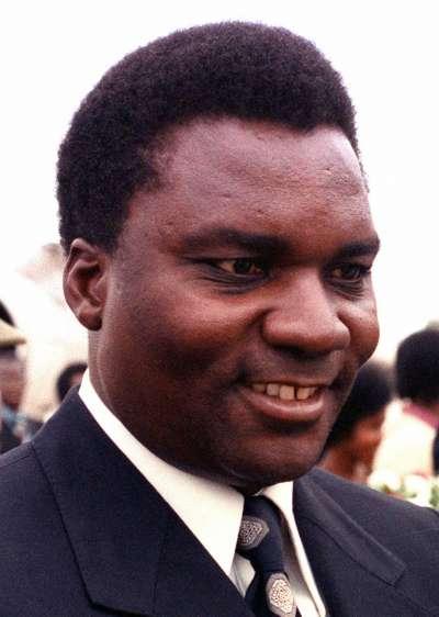 前盧安達總統哈比亞利馬納。(維基百科公有領域)