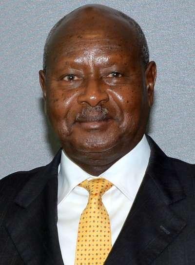 現任烏干達總統穆塞韋尼。(維基百科公有領域)