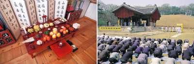 韓國人會在中秋節這一天祭祖掃墓。(韓國觀光公社)