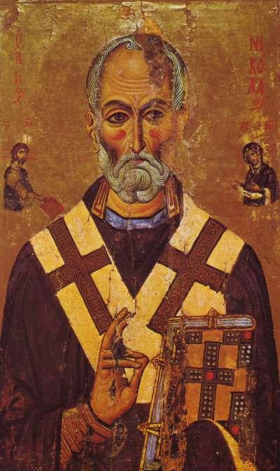 基督教聖人聖尼古拉斯 (Wikicommons)