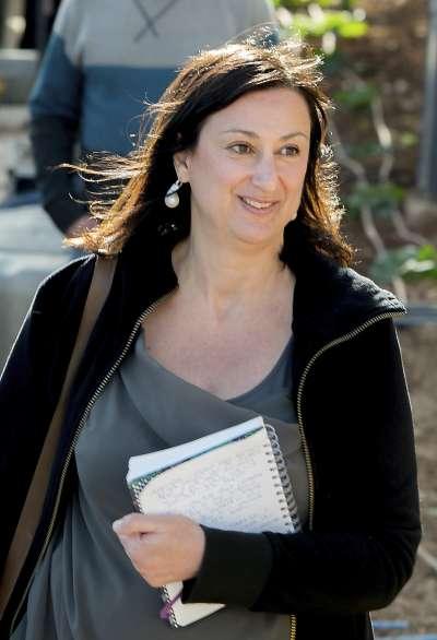 馬爾他女記者嘉麗齊亞(Daphne Caruana Galizia)遇害,舉國震悼(AP)