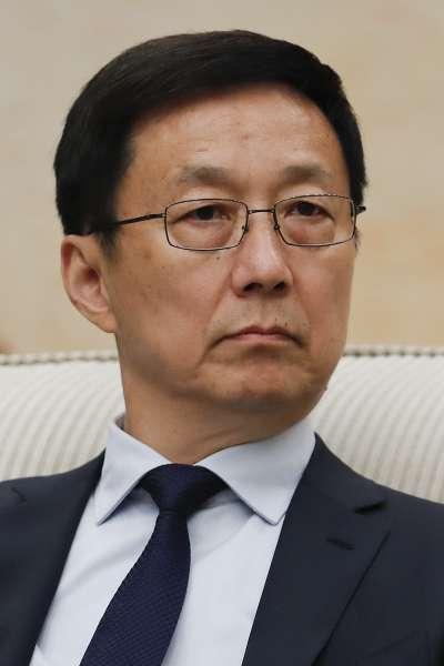 中國共產黨中央政治局常委韓正(AP)