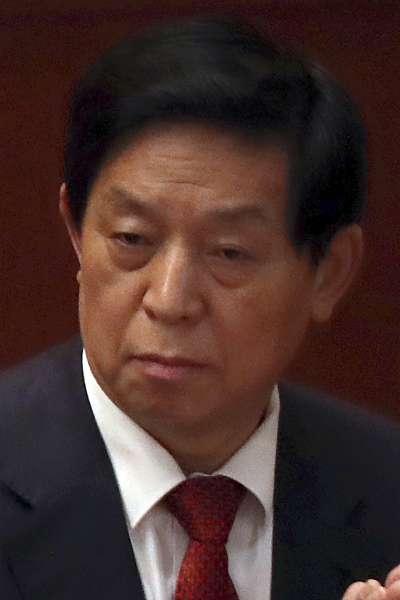 中國共產黨中央政治局常委栗戰書(AP)