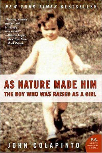 關於大衛的書As Nature Made Him  The boy who was raised as a girl(圖/言人文化提供)
