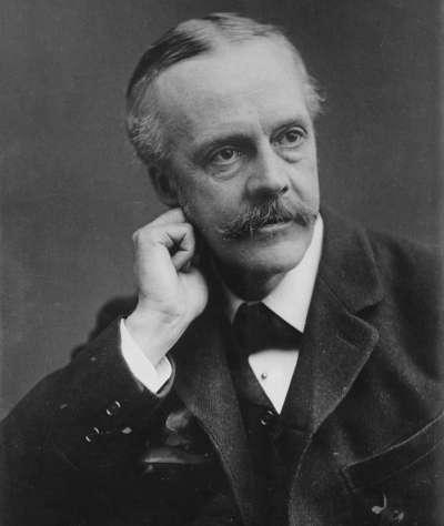 英國外相貝爾福。(維基百科)