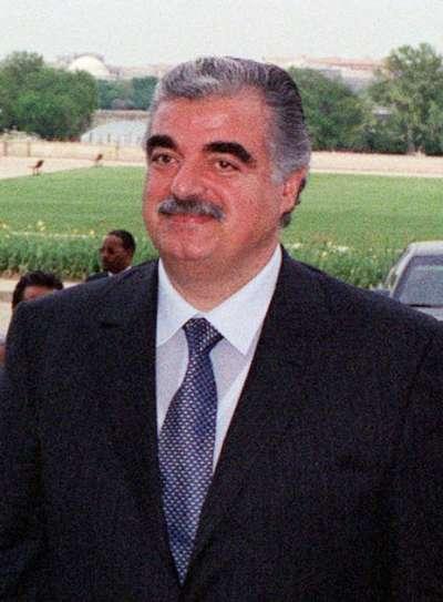黎巴嫩前總理拉菲格‧哈里里,2005年遭汽車炸彈攻擊身亡,外界多認為是什葉派真主黨所為。(維基百科公有領域)
