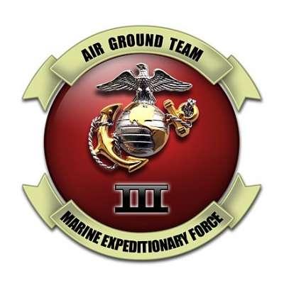 美軍陸戰隊第三遠征軍徽章。