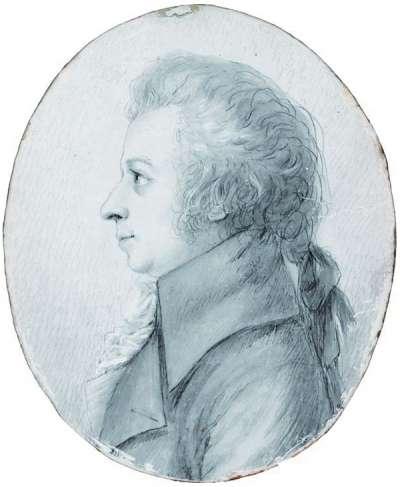 1789年的莫札特肖像(Wikipedia/Public Domain)