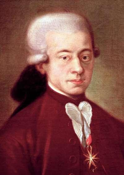這幅畫被稱為《波隆納的莫札特》成畫於1777年的薩爾斯堡,是波隆納作曲家馬蒂尼為他的作曲家肖像畫廊訂購的,莫札特的父親說這幅畫非常肖似莫札特本人(Wikipedia/Public Domain)