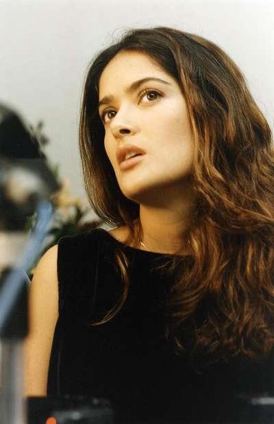 2004年的莎瑪海耶克。(圖/Festival Internacional de Cine en Guadalajara's photostream@CCBY2.0)