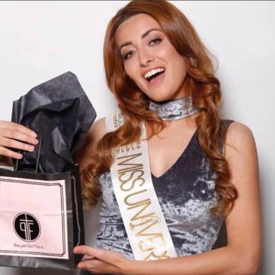 伊拉克小姐伊丹因為與以色列小姐合照而收到死亡威脅(取自sarahidan@Instagram)