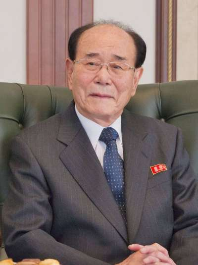 北韓最高人民會議常任委員會委員長金永南,是3年來訪問南韓最高級別的北韓官員。(圖/俄羅斯聯邦聯邦議會聯盟理事會@wikipediaCCBYSA4.0)