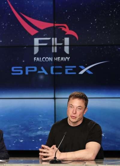 美國SpaceX公司執行長馬斯克(AP)
