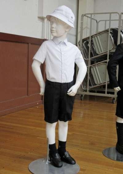 日本公立小學請來亞曼尼設計制服(AP)