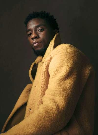 在漫威英雄電影《黑豹》中飾演主角的查威克鮑斯曼(Chadwick Boseman)。(美聯社)