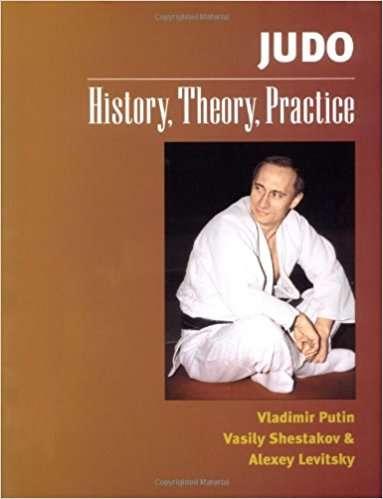 俄羅斯總統普京是柔道高手,甚至曾與人合著柔道書籍(取自Amazon.com)