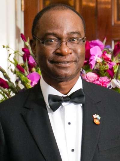 全民國會黨在2018年大選派出的總統候選人卡馬拉(Samura Kamara)。(Wikipedia /Public Domain)