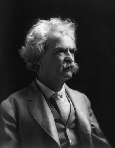 馬克・吐溫(Mart Twain)(Wikipedia / Public Domain)