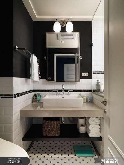 不喜歡牆面過於繽紛?黑色也是能立刻凸顯風格的一種選擇。(圖/設計家Searchome提供)